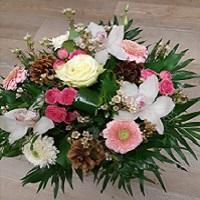 2-Bouquet d'hiver tons rose