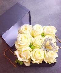 10-La boîte à roses /dès 75.-